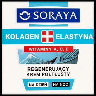 Soraya_Kolagen + Elastyna_regenerujący półtłusty krem do twarzy, 50 ml_2