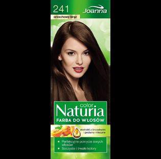 Joanna_Naturia Color_farba do włosów 241 orzechowy brąz, 1 opak.