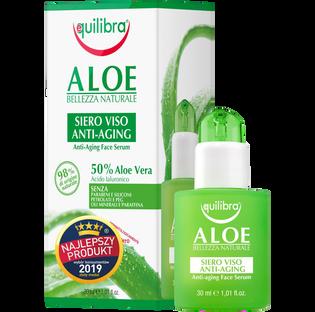 Equilibra_Aloes_przeciw starzeniowe serum do twarzy, 30 ml