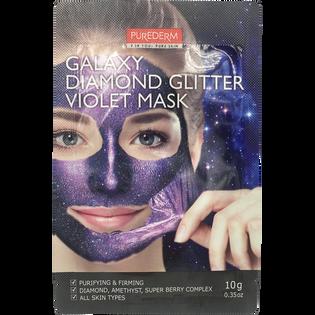 Purederm_Galaxy Diamond Glitter_maseczka peel-off z ametystem do twarzy, 10 g