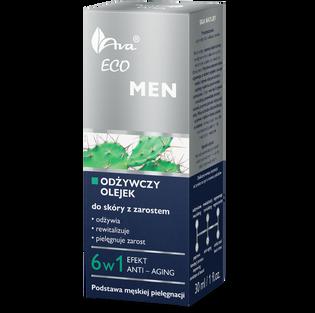 Ava_Eco Men_odżywczy olejek do skóry z zarostem, 30 ml_2