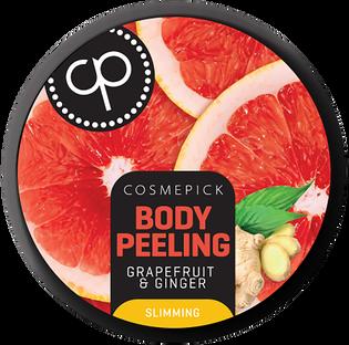 Cosmepick_Grapefruit&Ginger_peeling cukrowy do ciała, 200 ml