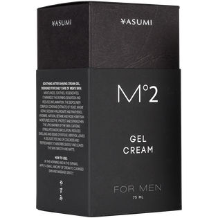 Yasumi_M2 For Men_krem-żel do twarzy, 75 ml_2