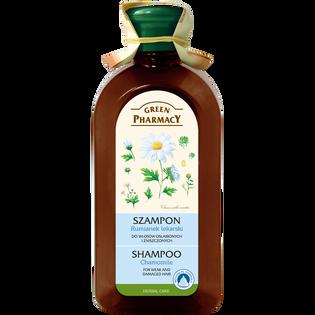 Green Pharmacy_Rumianek Lekarski_szampon do włosów osłabionych i zniszczonych, 350 ml