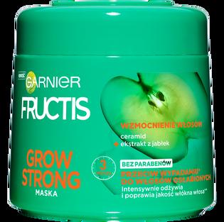 Garnier Fructis_Grow Strong_maska przeciw wypadaniu do włosów osłabionych, 300 ml