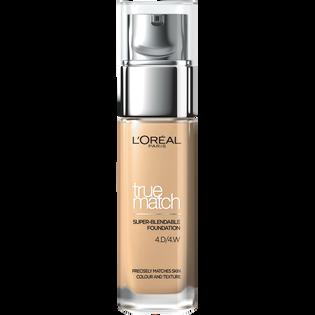 L'Oréal Paris_True Match_podkład do twarzy golden natural 4.W, 30 ml