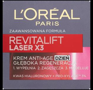Loreal Paris_Revitalift Laser x3_krem przeciw oznakom starzenia się na dzień, 50 ml