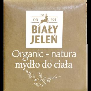 Biały Jeleń_Organic-Natura_mydło do ciała w kostce, 170 g