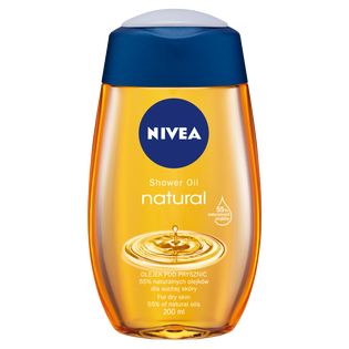 Nivea_Natural_olejek pod prysznic, 200 ml