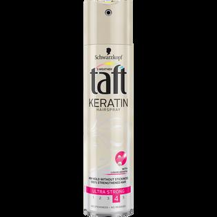 Taft_Keratin_lakier do włosów z keratyną, 250 ml