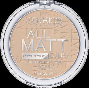 Catrice_All Matt Plus_puder w kamieniu do twarzy sand beige 025, 10 g