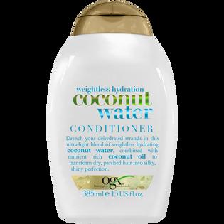 Ogx_Nawilżająca_odżywka do włosów z woda kokosową, 385 ml