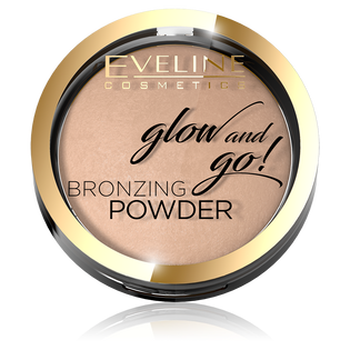 Eveline Cosmetics_Glow and Go_bronzer w kamieniu do twarzy 01, 8,5 g
