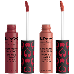 NYX Professional Makeup_Soft Matte Chilling Adventures of Sabrina Fright Club_zestaw: matowa pomadka do ust Budapest, 8 ml + matowa pomadka do ust Cannes, 8 ml_1