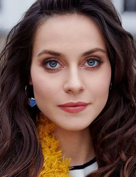 Zimowy makijaż na blogu Hebe.pl