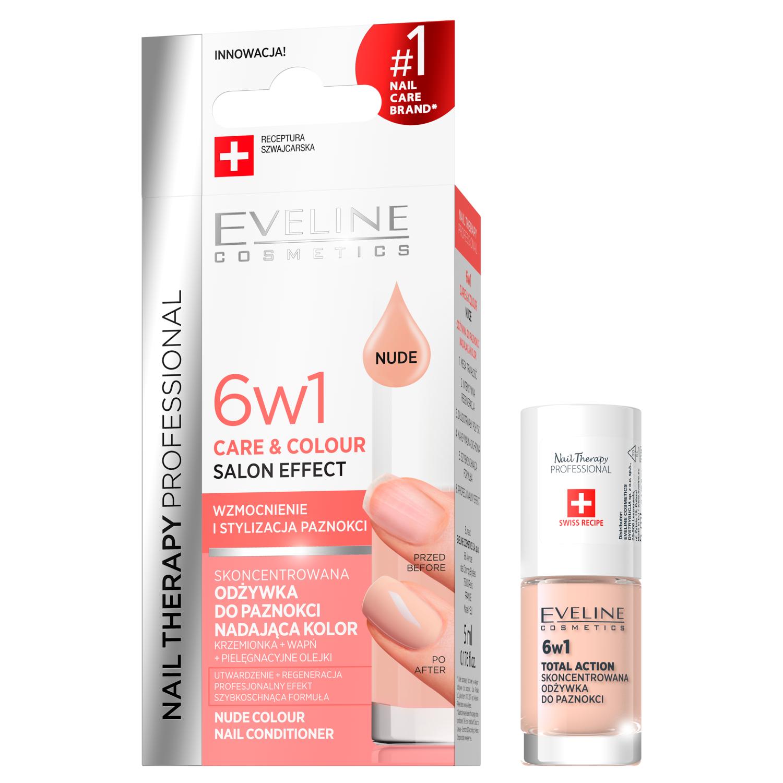Eveline Cosmetics odżywka do paznokci nude, 75 ml | hebe.pl