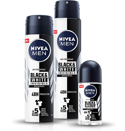 Black&White Invisible Original Antyperspirant