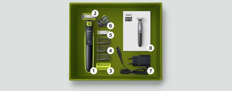 Philips Jedno ostrze do golenia i stylizacji zarostu na twarzy oraz na ciele