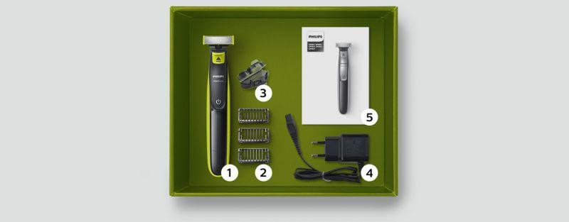 Philips Jedno ostrze do golenia i stylizacji zarostu