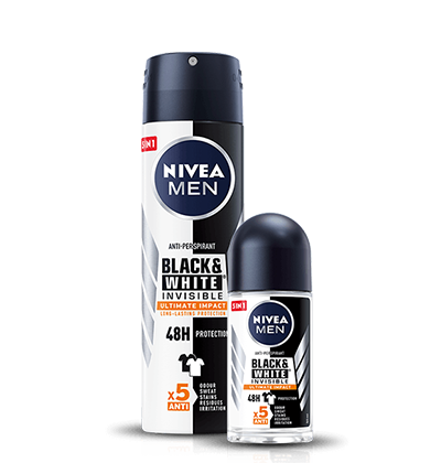 Black&White Invisible Ultimate Impact Antyperspirant