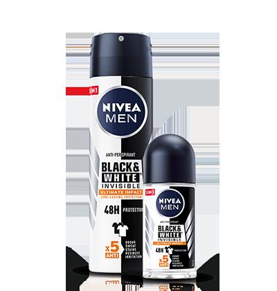 Black&White Invisible Ultimate Impact Antyperspirant