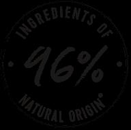 96% naturalnych składników