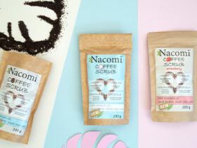 Peeling Nacomi - suchy o zapachu kokosa