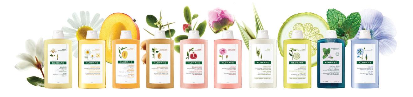 Klorane – szampony do każdego rodzaju włosów   hebe.pl