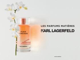 Wyjątkowe perfumy Karl Lagerfeld , kompozycja kwiatowo-cytrusowa Fleur D'Orchidee